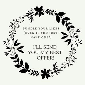 Bundle Your Likes, I'll Send You My Best Offer!